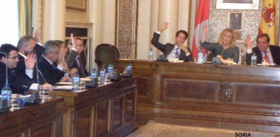 Grupo popular de la Diputación.