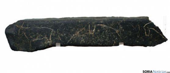 La placa paleolítica de Villalba.