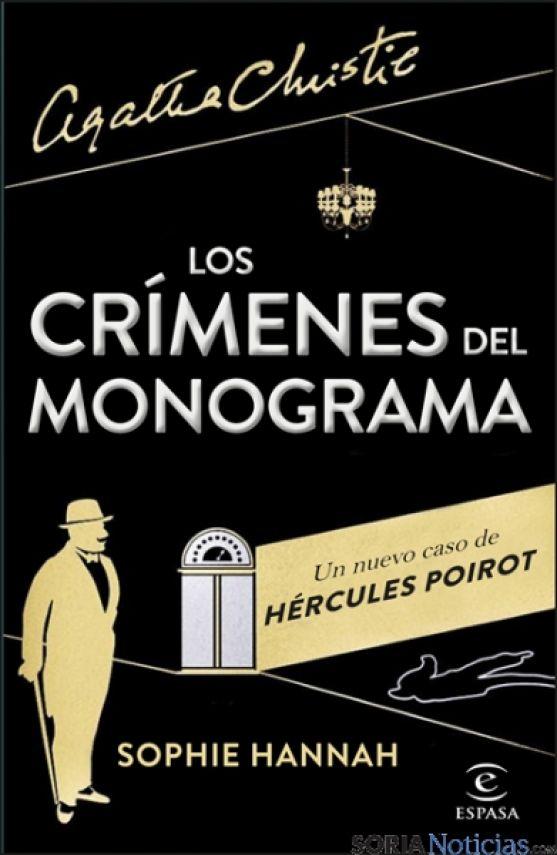 Portada de 'Los crímenes del monograma'