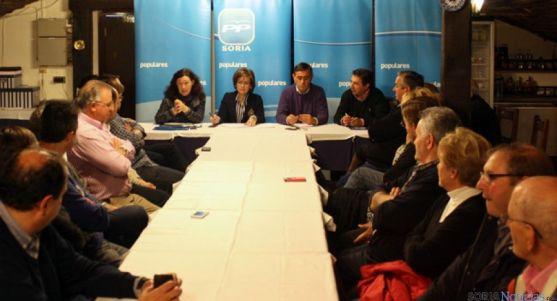 Reunión de los populares de Pinares en Vinuesa