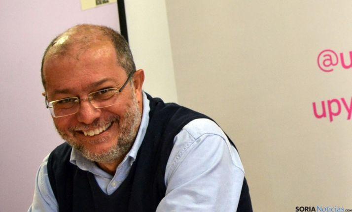 Paco Igea, este lunes en Soria. / SN