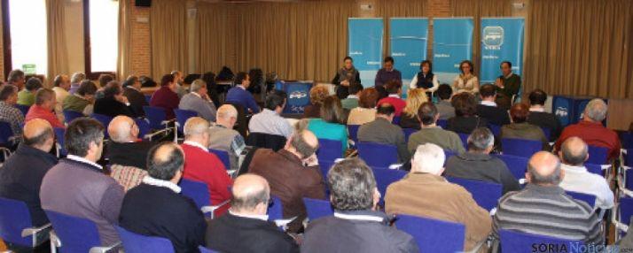 Acto del PP en Almazán