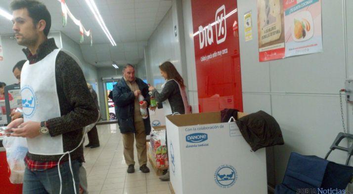 El Banco de Alimentos de Soria agradece la solidaridad demostrada / SN