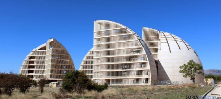 La Cúpula de la Energía en el Parque Empresarial del Medio Ambiente. / SN