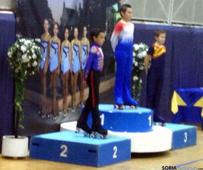 García, el segundo en el podio. / SN