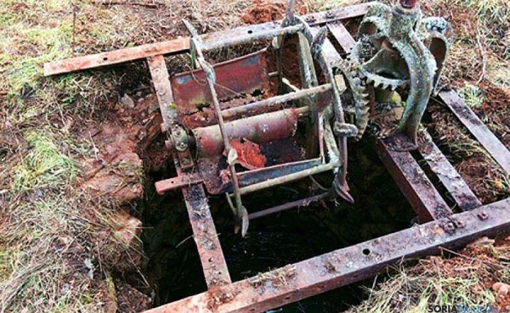 El pozo donde se han encontrado los cadáveres. / Zamora 3.0
