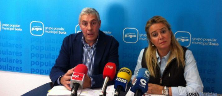 Alberto Rodríguez y María José Fuentes