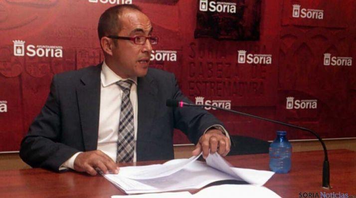 El concejal de la hacienda municipal, Luis Rey. / SN