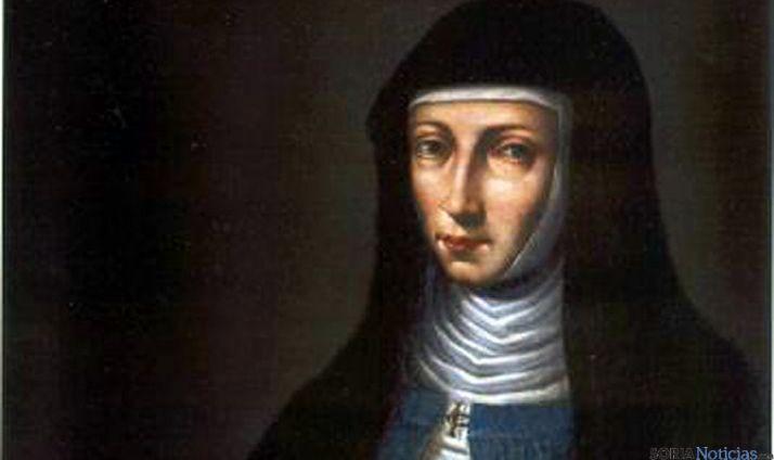 Retrato de sor María de Jesús de Ágreda.