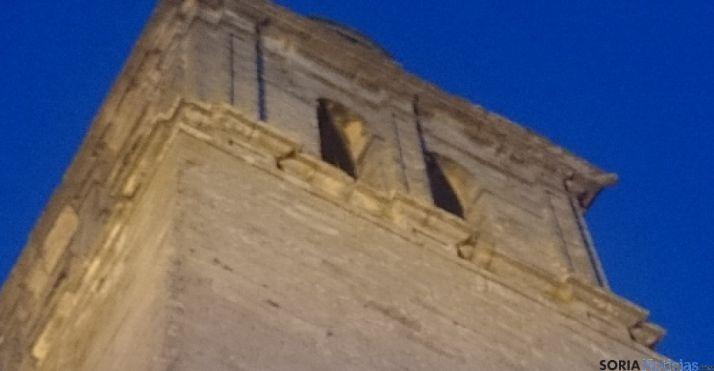Torre de la Colegiata de Medinaceli.