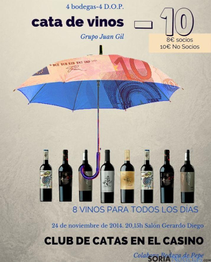 Se paladearán 10 vinos de 4 denominaciones.
