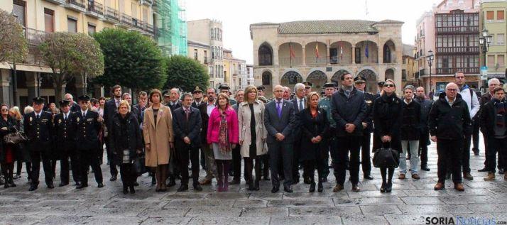 Acto institucional en Zamora en el Día contra la Violencia de Género.