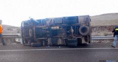 Estado del vehículo tras el accidente. / Ainalb Alomar