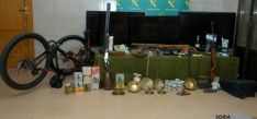Objetos robados en viviendas de Soria