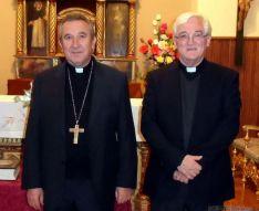 Gerardo Melgar (izda.) y David Gonzalo.