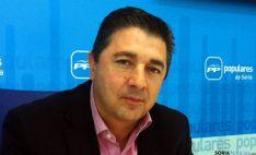 Jesús Peregrina, procurador del PP. / SN