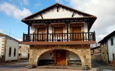 Antigua casa consistorial de San Andrés, pedanía de Almarza. / SN