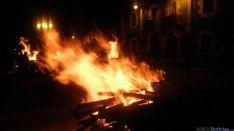 Hoguera de San Esteban en Navaleno