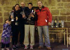 Jorge Omeñaca y Carolina Pérez, ganadores de la San Silvestre de Ágreda
