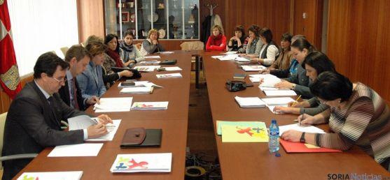 Reunión de la Comisión territorial contra la violencia de género. / Jta.
