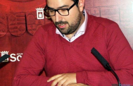 El concejal Ángel Hernández este jueves. / SN