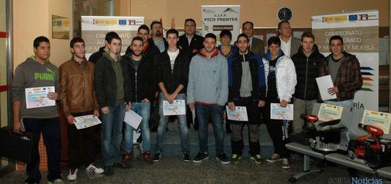 Participantes y ganadores del campeonato. / Jta.