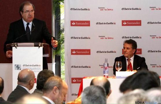 El presidente de la Junta, optimista con los datos económicos para 2015. / Jta.