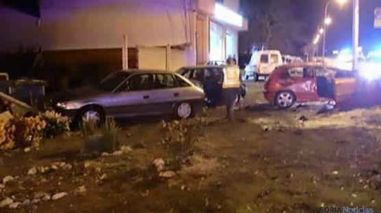 Accidente en El Burgo de Osma