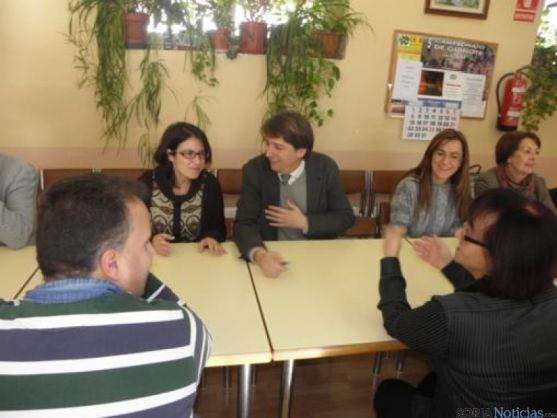 Visita de Adriana Lastra a Soria