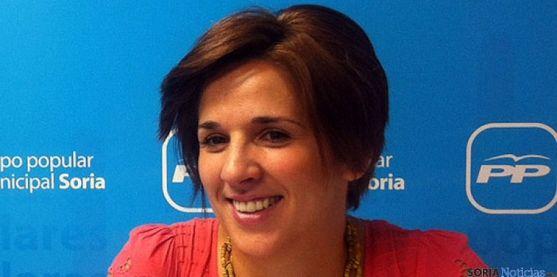 La concejal del PP, Rocío Gallardo. / SN