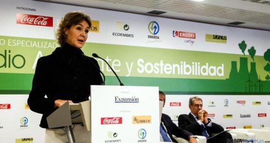 La responsable del MAGRAMA, Isabel García Tejerina.