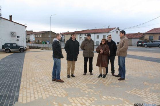 Visita a las obras realizadas por Diputación