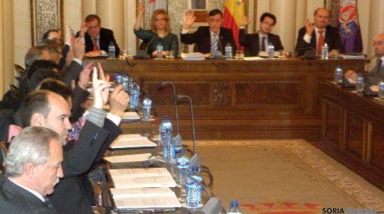 Pleno de Diputación de Soria