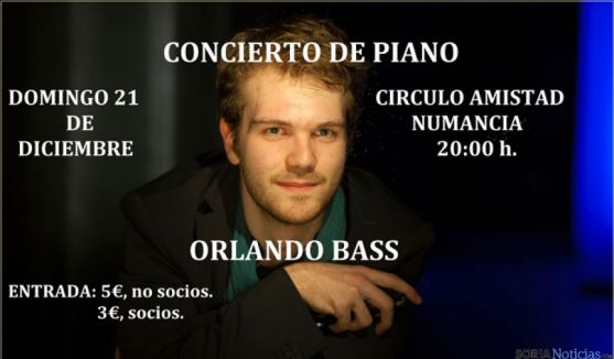 Concierto de piano de Orlando Bass