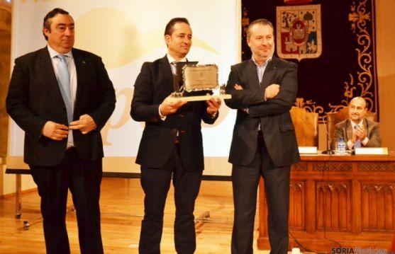 Carmelo Gómez, Fco. Javier Blanco y  Donaciano Dujo