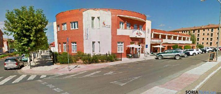 La terminal de autobuses del Burgo. / SN