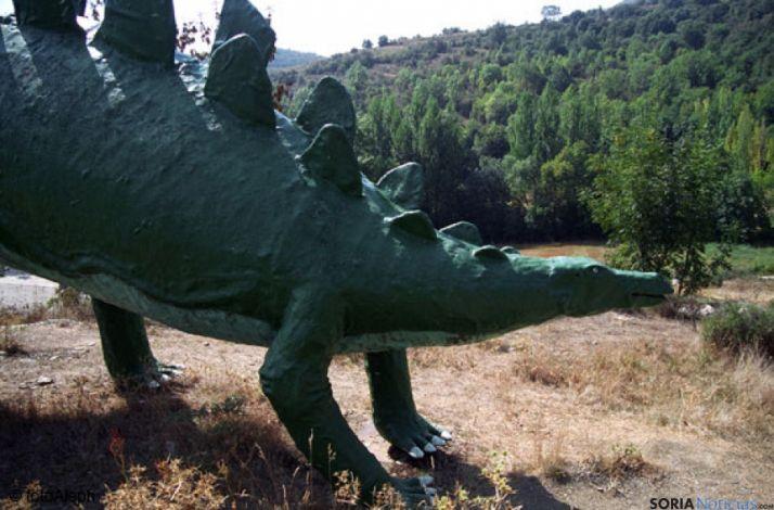 Dinosaurio Santa Cruz de Yangüas