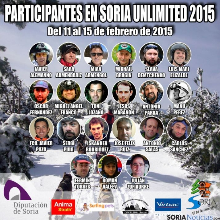 Amplia participación en la Unlimited 2015.