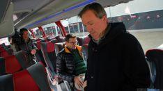 Nuevo y cómodo autobús para el Numancia. / SN