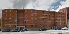 Bloque de viviendas de los camineros, en Soria. / GM