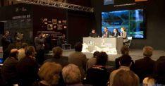 Una de las presentaciones de la Diputación en FITUR 2013. / Dip