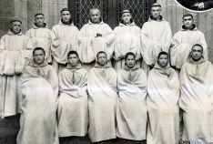 Algunos de los religiosos que serán beatificados.