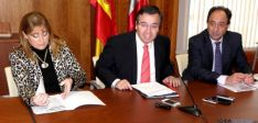 Presentación convenio Junta y Garray para Numancia