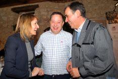 Rocío Lucas, Adolfo Sainz y Antonio Pardo. / SN