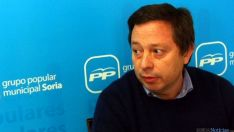 El concejal del PP en el Consistorio, Adolfo Sainz.
