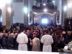 Foto 3 - El arzobispo de Zaragoza, con sus paisanos de Ágreda