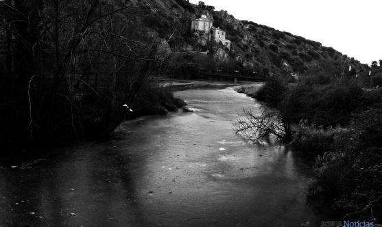 Imagen del Duero en la capital este viernes. / SN