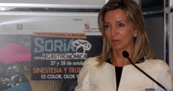 La consejera de Turismo, Alicia García en una imagen de archivo. / SN