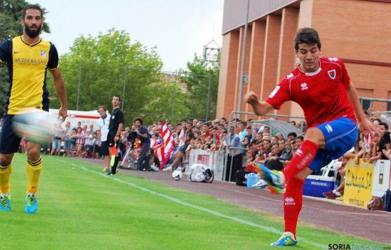 Bonilla, en un encuentro contra el Atlético de Madrid. / SN