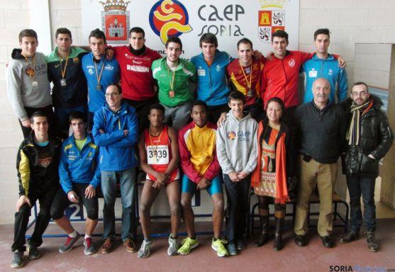 Los atletas del CAEP para el regional.